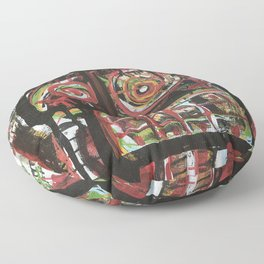 La Fe de Clarita Floor Pillow
