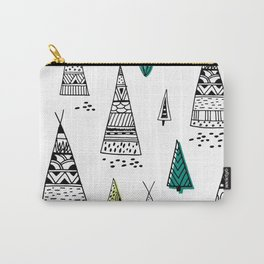 Tribal pattern Carry-All Pouch