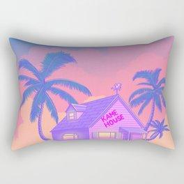 80s Kame House Rectangular Pillow