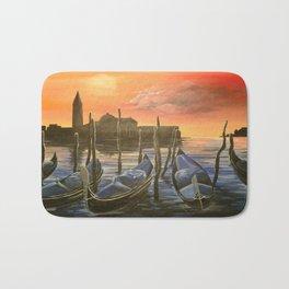 Venezia al tramonto Bath Mat