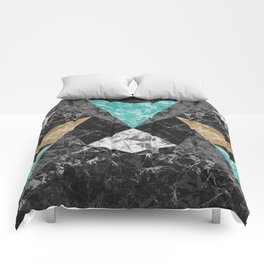 Marble Geometric Background G430 Comforters