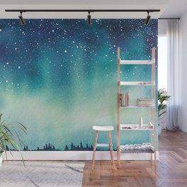""" Northern Sky "" Wall Mural"