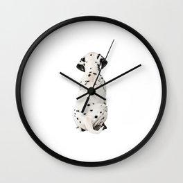 Cute Dalmatian 10 Wall Clock