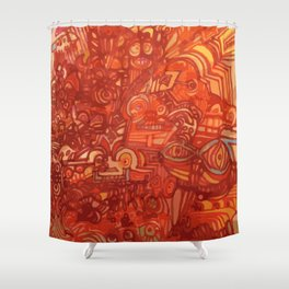 EPISODE TWO Shower Curtain