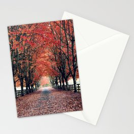 Welcome Home to Fall Stationery Cards