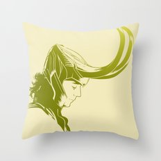Prince of Asgard Throw Pillow