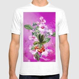 Wonderful flowers, watercolor T-shirt