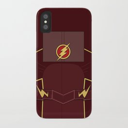 Superheroes phone | The Flash #2 version iPhone Case