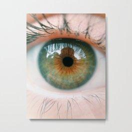 Niki's Eye Metal Print
