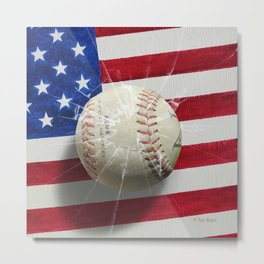 Baseball - New York, New York Metal Print
