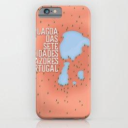 Lagoa das Sete Cidades iPhone Case