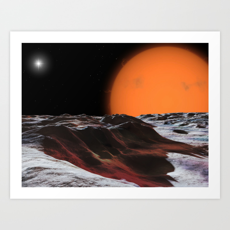 Mira Ceti Art Print By Ronmiller Society6
