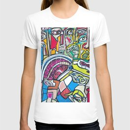 Study For A Face T-shirt