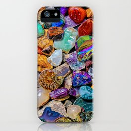Rocks and Minerals, Geology iPhone Case