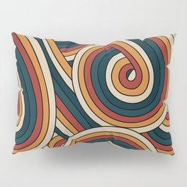 Vintage Doodle Swirls Pillow Sham