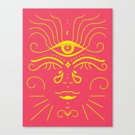 Buddhi Babe Canvas Print