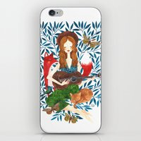 oana befort iPhone & iPod Skins featuring PLAY ME A SONG by Oana Befort