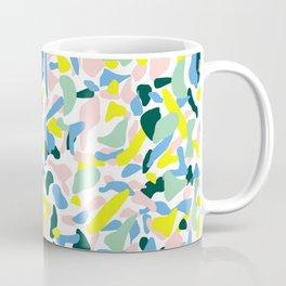 Postmodern Painting in Nile Pastel Coffee Mug