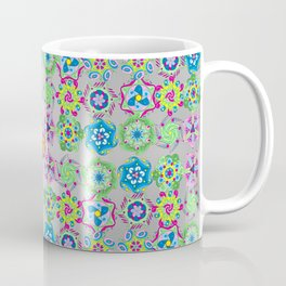 9-Patch Hex Mandalas (2018) Coffee Mug