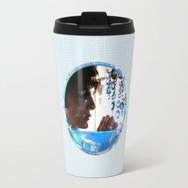 Crystals - Blue  Travel Mug