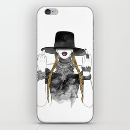 Creole Queen Bey iPhone Skin