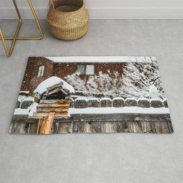 Snow House Rug