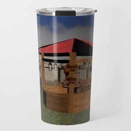 Medieval Market Tavern Travel Mug