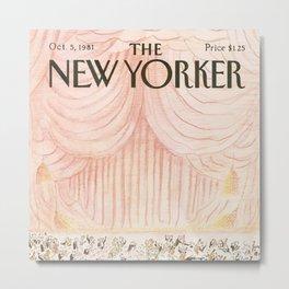 The New Yorker - 10/1981 Metal Print