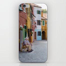 Sunday Morning on Murano Island, Venice, Italy iPhone Skin