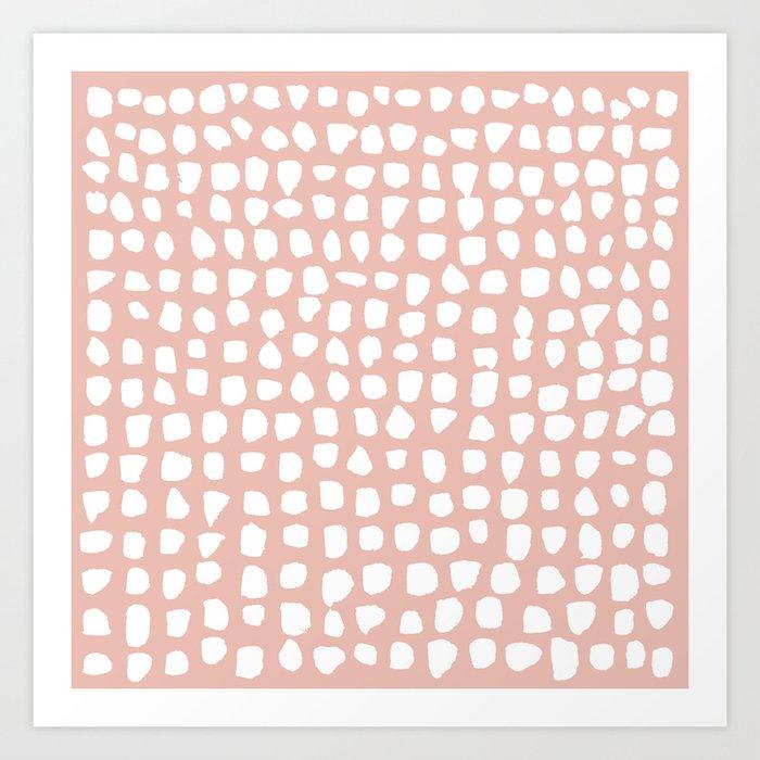 Dots (Pink) Kunstdrucke