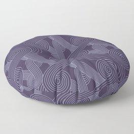 Quarian Swirls Floor Pillow