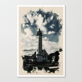 Heaven on Earth Lighthouse Series - 4 Canvas Print