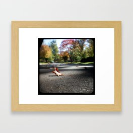 Mile 16: Detroit Free Press Marathon Framed Art Print