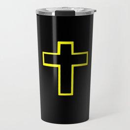 Christian Cross 18 Travel Mug