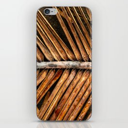 Dried Coconut Palm iPhone Skin