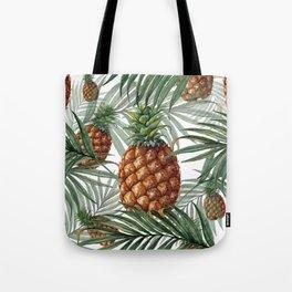 King Pineapple Tote Bag