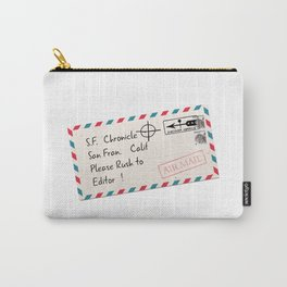 Rush to Editor Zodiac Killer Carry-All Pouch