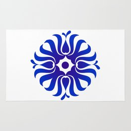 Mandala for the good communication Rug