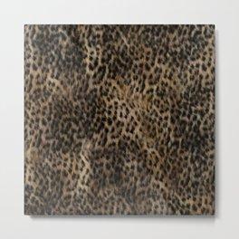 Cheetah Fur Texture #2 Metal Print