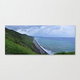 Verdant Coast Canvas Print