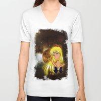 sailor venus V-neck T-shirts featuring Sailor Venus by Maren Lex