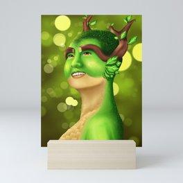 Lil' Sis' Nature Mini Art Print
