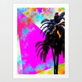 Summertime Retro Art Print