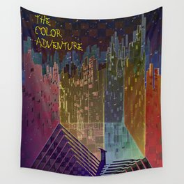 The Color Adventure in The Mistic Areas Wall Tapestry