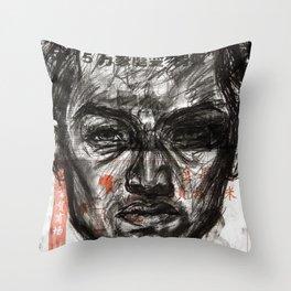Cold Hard Life Throw Pillow