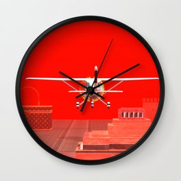 Squared: Landing Zone Wall Clock