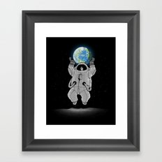 Typical Tourist Photo Framed Art Print