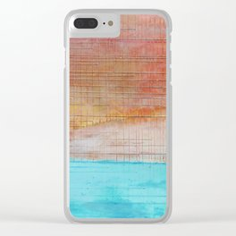 Sky is Crying Clear iPhone Case