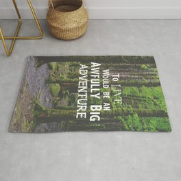 Peter Pan and Forrest Lands Rug