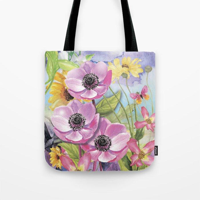 Macro Flower #18 Tote Bag